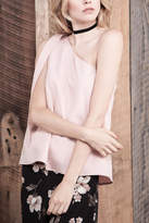 J.o.a. Blush Sleeveless Blouse