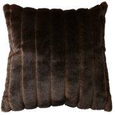 Horchow Sable Faux Fur Accent Pillow