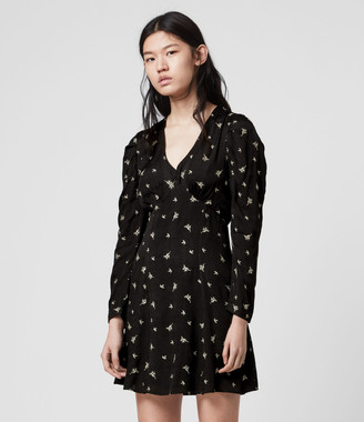 AllSaints Rosi Bamboo Dress