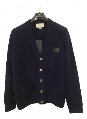 Gucci Navy Wool Knitwear & Sweatshirts