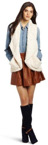 Democracy Women's Fur Cozy Vest