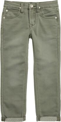 Hudson Jeans Leo Roll Cuff Knit Denim Jeans