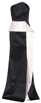 Roland Mouret Addover strapless satin gown