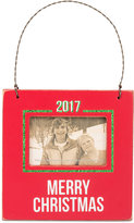 Primitives by Kathy 2017 Merry Christmas Mini Hanging Frame Ornament