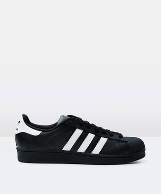 adidas Superstar Shell Toe Sneakers Black