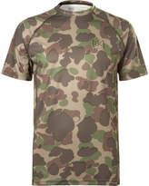 Burton Burton - Power Grid Camouflage-print Jersey T-shirt