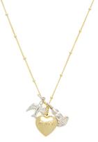 Good Charma Peace & Love Pendant Necklace