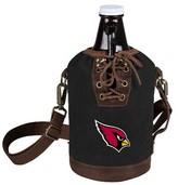 NFL Picnic Time NFL Team Growler Tote with Growler - Black