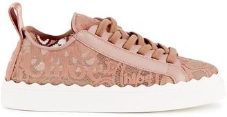 Chloé Lauren Roe Lace Sneakers