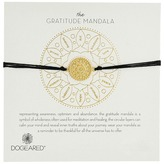 Dogeared Gratitude Mandala Center Flower Silk Bracelet
