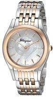 Salvatore Ferragamo Women's FG4080015 Lirica Two-Tone Watch