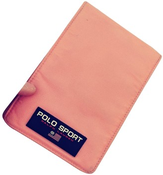 Polo Ralph Lauren Pink Synthetic Small bags, wallets & cases