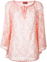 Missoni bow detail neck blouse - women - Viscose - 40