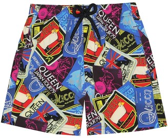 Vilebrequin Kids Jirise Queen swim trunks