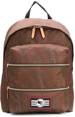 Etro Paisley Backpack