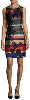 Trina Turk Kurdson Printed Sheath Dress