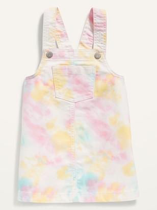 Old Navy Tie-Dye Jean Shift Skirtall for Toddler Girls