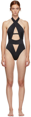 Agent Provocateur Black Anja One-Piece Swimsuit