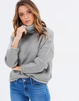 Sass Cassandra Roll Neck Knit Jumper