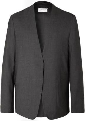 Maison Margiela Virgin Wool Blazer - Men - Gray