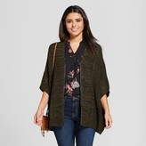 Xhilaration Women's Zip-Up Oversize Cardigan Juniors')