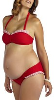 Pez D'or Women's 'Montego Bay' Ruffle Maternity Bikini