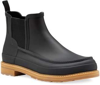 Hunter Lightweight Rubber Chelsea Rain Boots