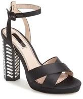 Topshop Women's Luna Embellished Sandal
