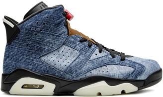 Jordan Air 6 black washed denim