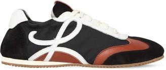Loewe 10mm Nylon & Suede Sneakers