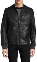 Timberland Mount Webster Leather Bomber Jacket