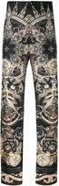 Roberto Cavalli paisley mix print pyjama pants - men - Silk - 52