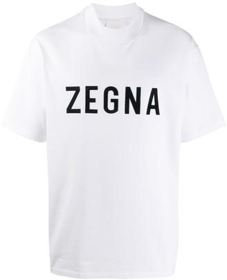 Ermenegildo Zegna x FEAROFGODZEGNA logo-print T-shirt