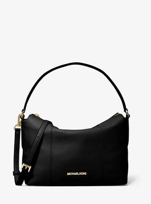 MICHAEL Michael Kors Brooke Medium Pebbled Leather Shoulder Bag