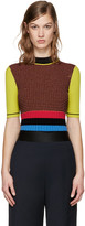 Opening Ceremony Multicolor Striped Turtleneck