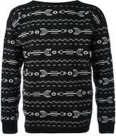 Lanvin arrow intarsia knit