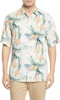 Tommy Bahama Men's 'Cool, Palm And Collected' Print Short Sleeve Silk Camp Shirt