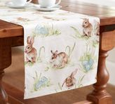 Pottery Barn Pasture Bunny Table Runner