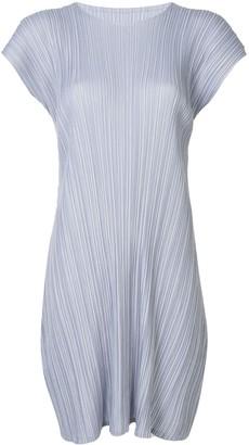 Pleats Please Issey Miyake Mellow Pleats dress