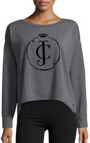Juicy Couture Long Sleeve Sharkbite Hem Pullover