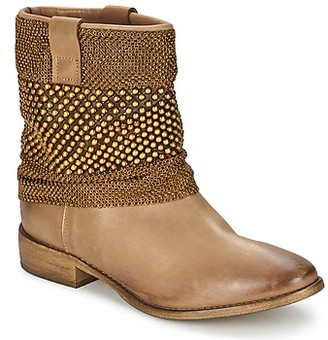 Strategia MAILLETT women's Mid Boots in Brown