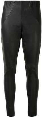 Maticevski Skinny Leather Trousers