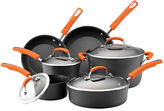 Rachael Ray 10-pc. Hard-Anodized Cookware Set