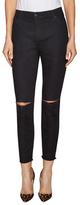 Joe's Jeans Dion Mid-Rise Distressed Skinny Jean
