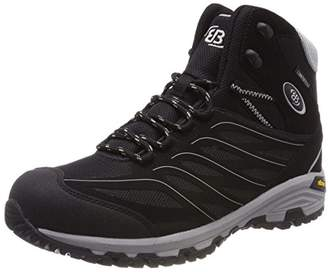Bruetting Unisex Adults' Mount Hayes High Rise Hiking Shoes, Black Schwarz/Grau