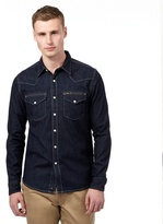Lee Dark Blue Denim Shirt