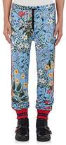 Gucci Men's Floral Drawstring-Waist Track Pants