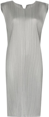Pleats Please Issey Miyake Plisse Shift Dress