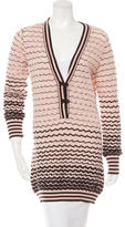 M Missoni Wool Patterned Sweater