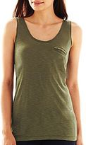 JCPenney a.n.a® Pocketed Tank Top - Petites